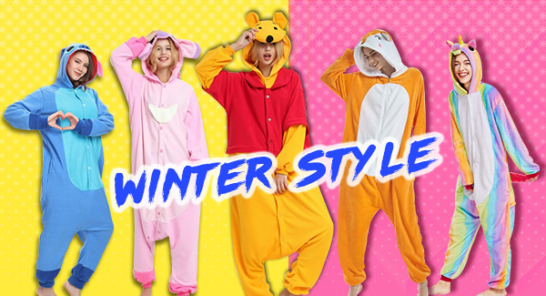 Adult Kigurumi Winter Onesies