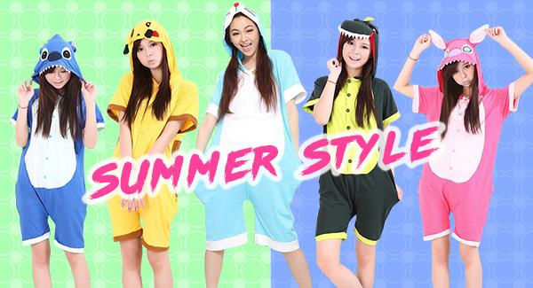 Adult Kigurumi Summer Onesies