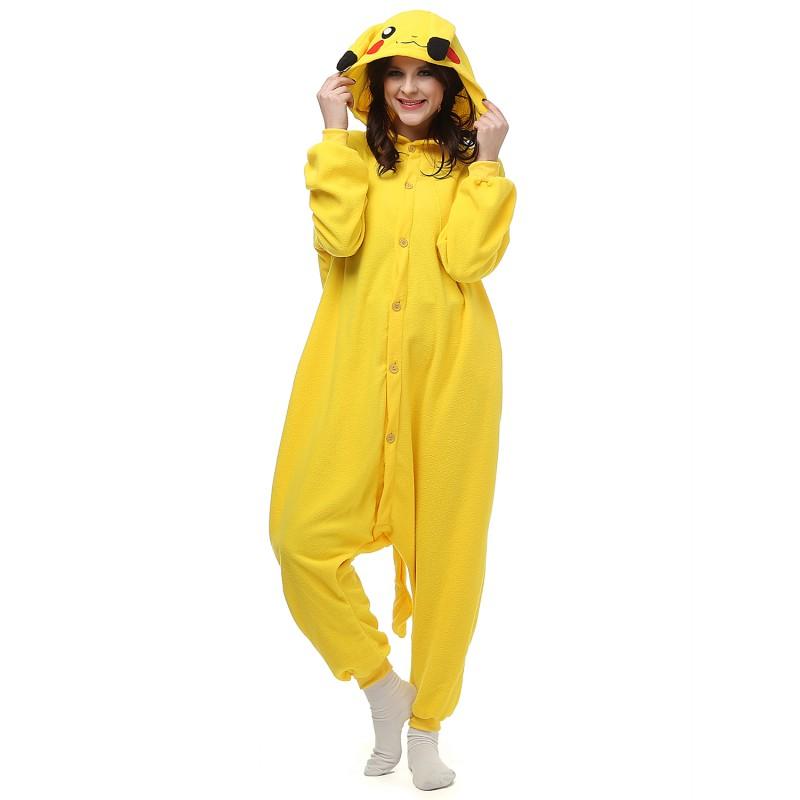 pikachu onesie pokemon costumes adult onesies kigurumi pajamas 6526df257310
