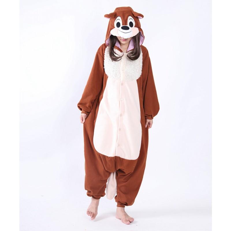b442cf7e0ff1 squirrel onesie animal costumes kigurumi pajamas 1