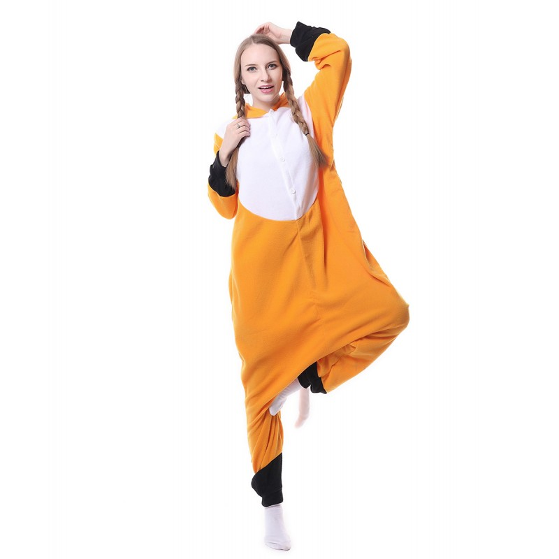 8ea0cfc884 Red Fox Onesie Pajama Animal Costumes For Women   Men