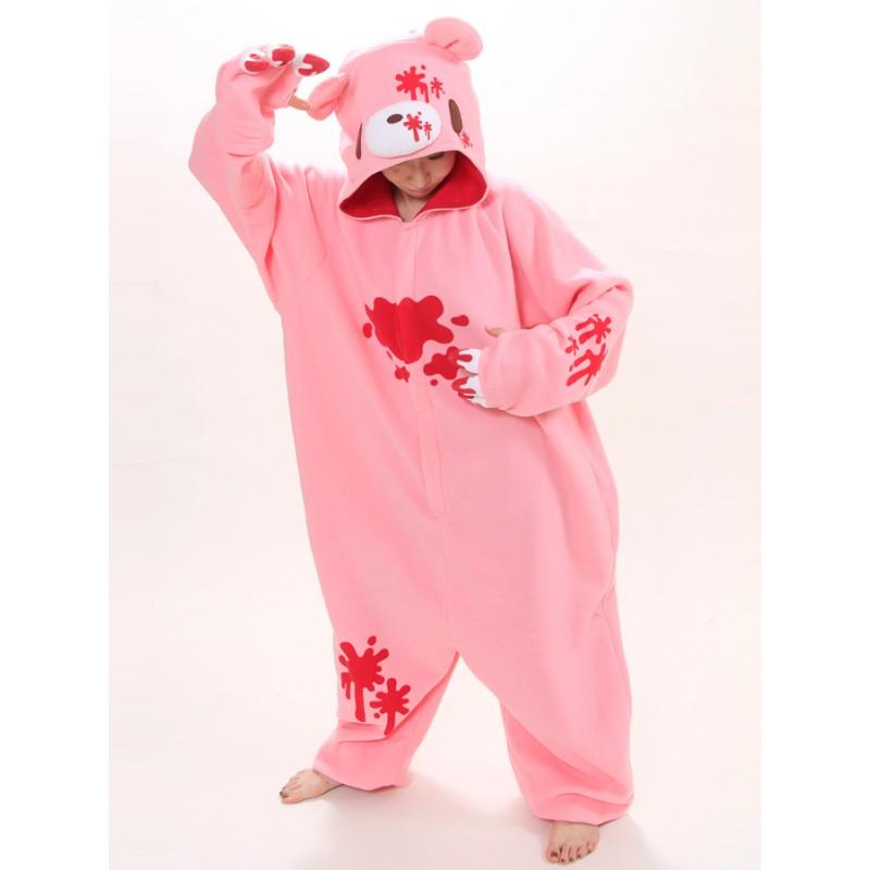 6ac47140b pink gloomy bear onesie animal costumes adult onesies kigurumi pajamas