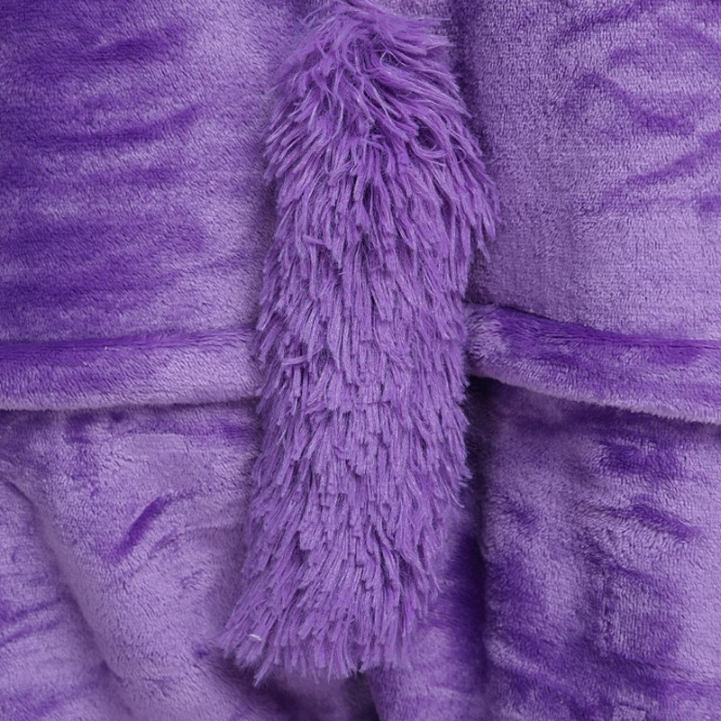 обзор кигуруми фиолетового единорога