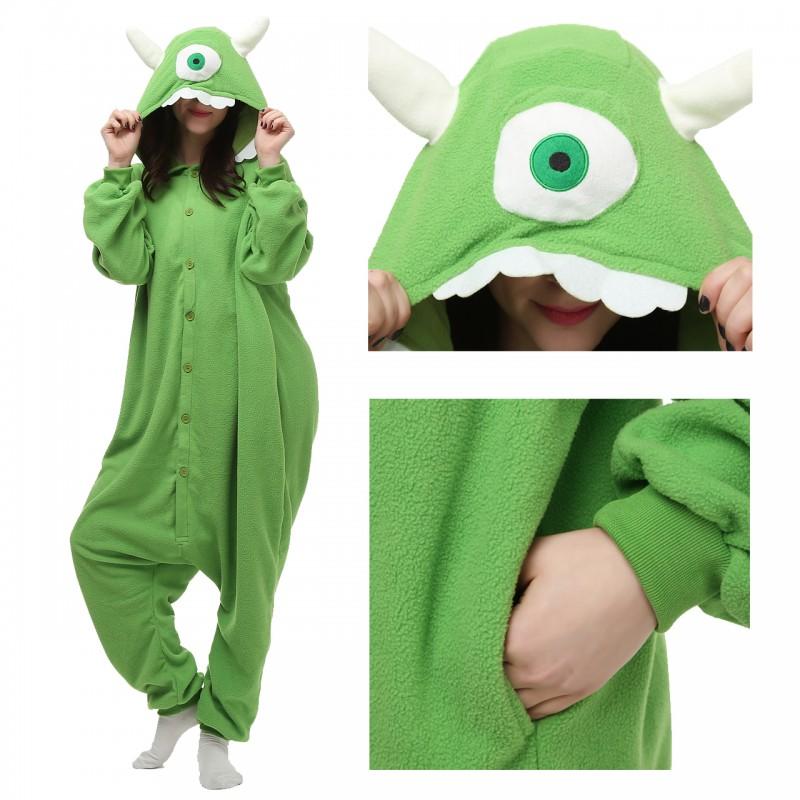 55888ec5d43c mike wazowski onesie disney costume monsters university onesies ...