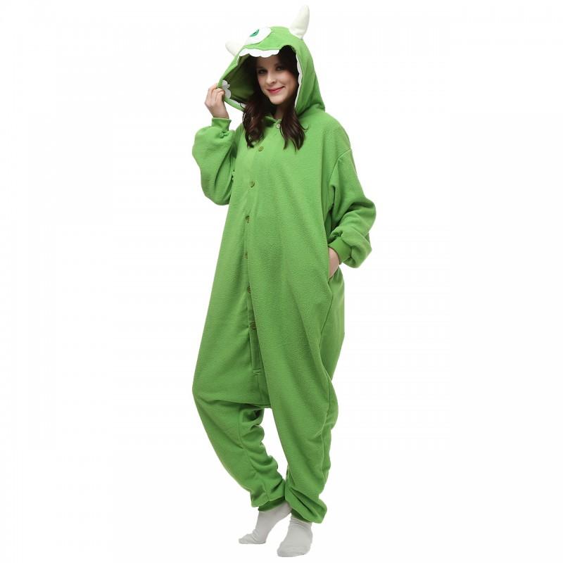 757ec89b9aab mike wazowski onesie disney costume monsters university onesies ...