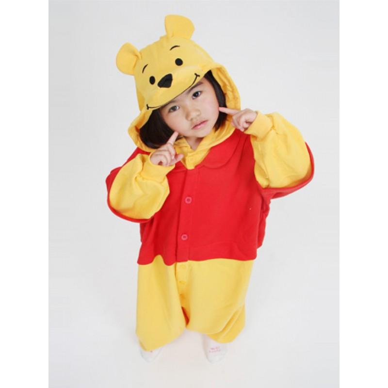 winnie the pooh bear onesie disney costumes kids onesies kigurumi ... f109e7cab583