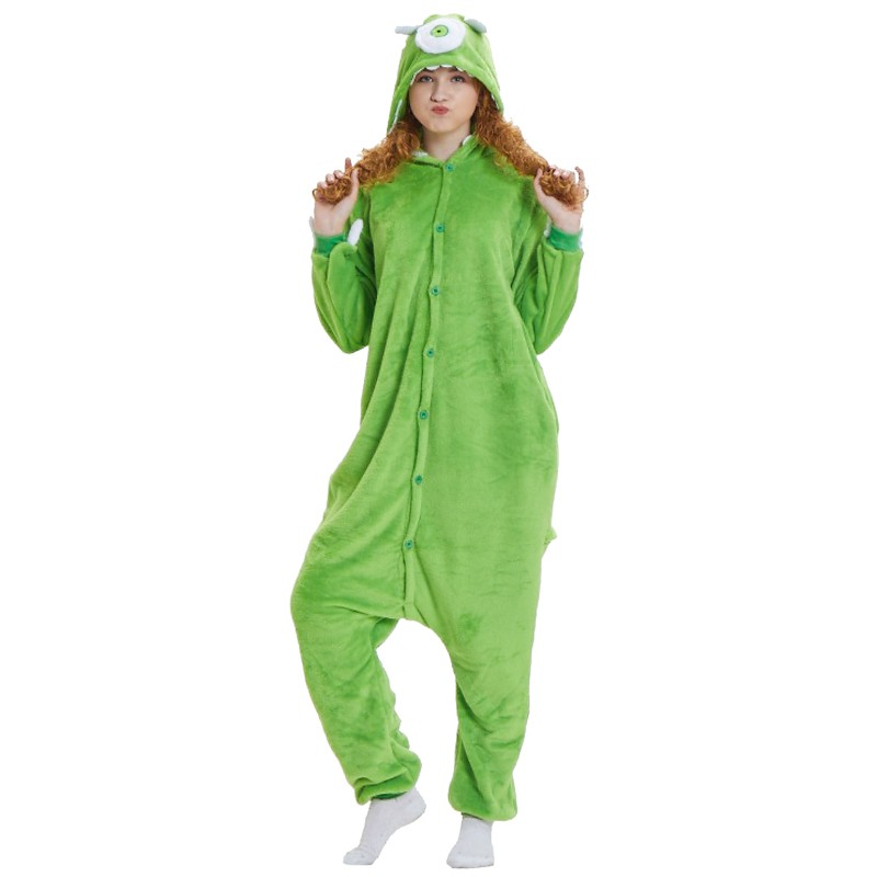 5ac10ca3ae50 mike wazowski onesie mike wazowski costume monsters inc onesies ...