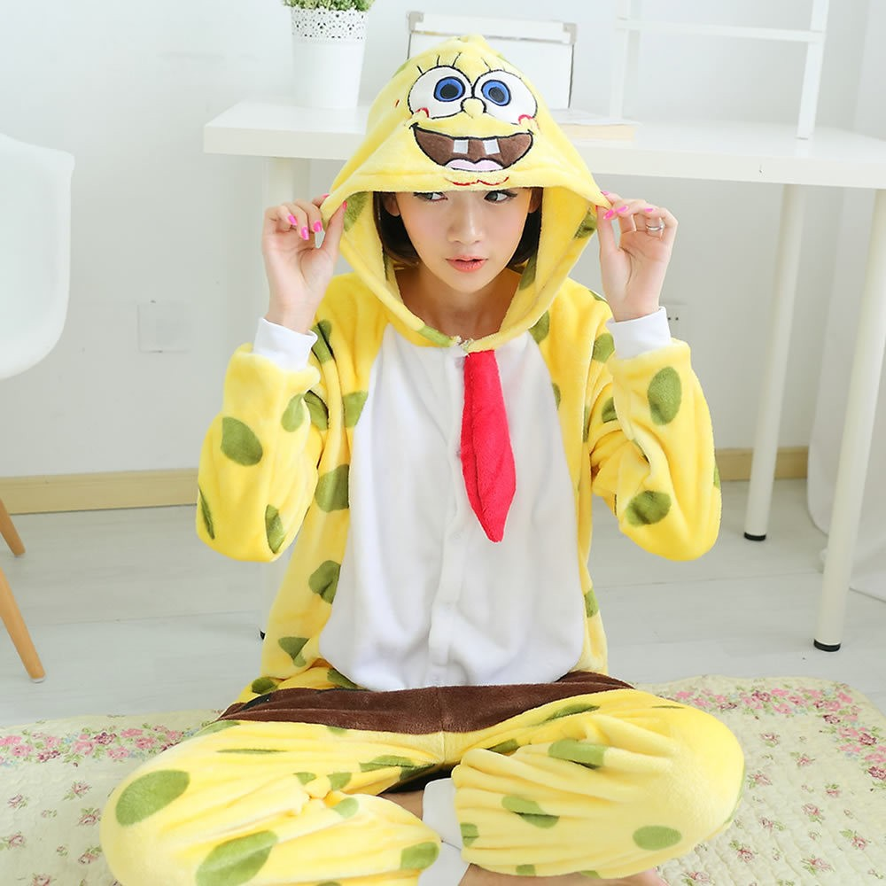 Find great deals on eBay for spongebob onesie. Shop with confidence. Skip to main content. eBay: Spongebob Squarepants Onesie Shirt. New (Other) $ Buy It Now Kids Unisex Animal Sleepsuit Cosplay Costume Pajamas Outfit Onsies Nightclothes See more like this.