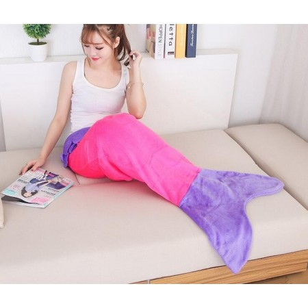Mermaid Tail Blanket Soft Polar Fleece Sleeping Bags
