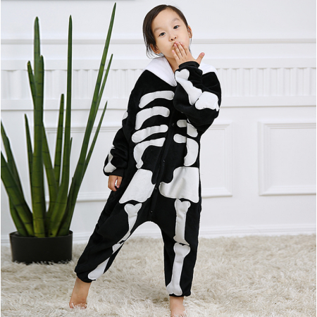 Baby Style Cute Skeleton Onesie Skull Halloween Costumes
