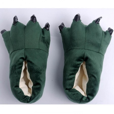 Dark green Animal Onesies Kigurumi slippers shoes