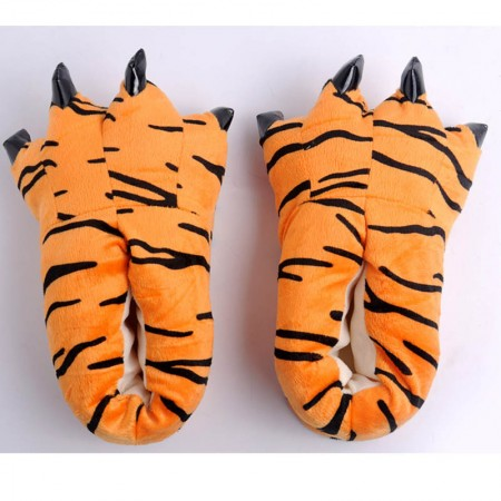 Orange Tigger Animal Onesies Kigurumi slippers shoes