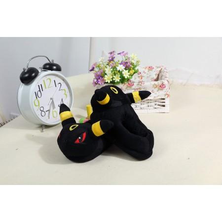 Black elves slippers shoes