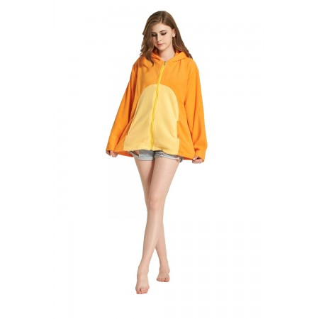 Charmander Animal Kigurumi Fleece Hoodie Coat Jacket