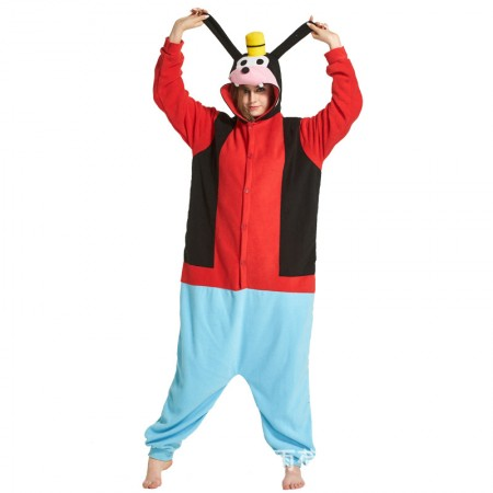 Cute Goofy onesie long-sleeved fleece pajamas