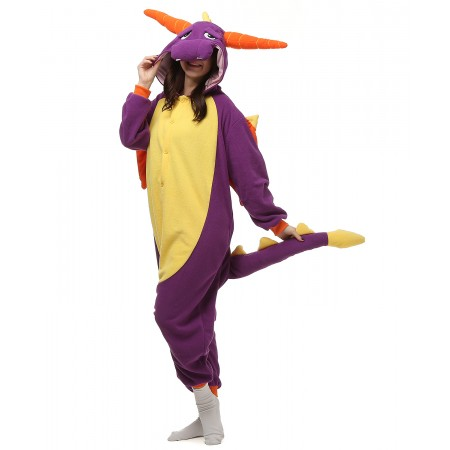 Purple Dinosaur Onesie