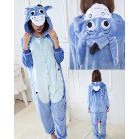 Winnie the pooh Eeyore Pajamas Animal Onesies Costume Kigurumi