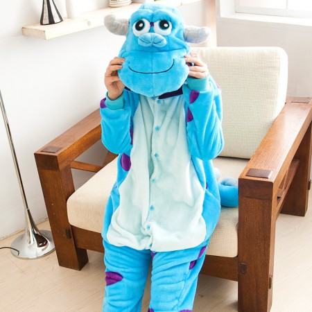Monsters University James P. Sullivan Pajamas Animal Onesies Costume Kigurumi