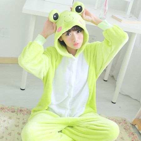 Frog Pajamas Animal Onesies Costume Kigurumi