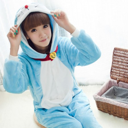 Doraemon Pajamas Animal Onesies Costume Kigurumi