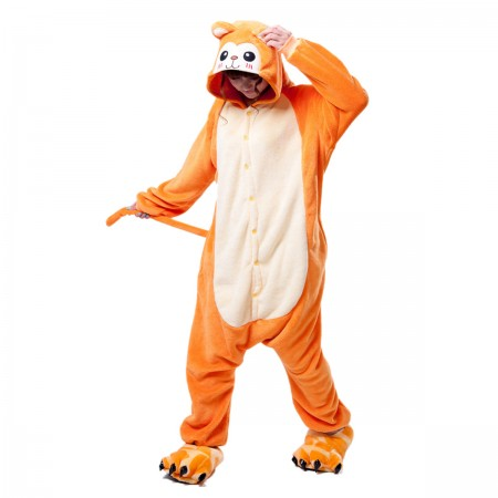 Orange Monkey Onesie