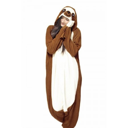 New Sloth Animal Cosplay Costume Adult Pajamas