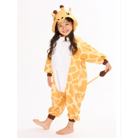 Giraffe Kids Onesie  sc 1 st  Wellpajamas & giraffe onesie animal costumes kids onesies kigurumi pajamas