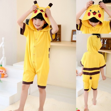 pikachu kigurumi onesie for kids