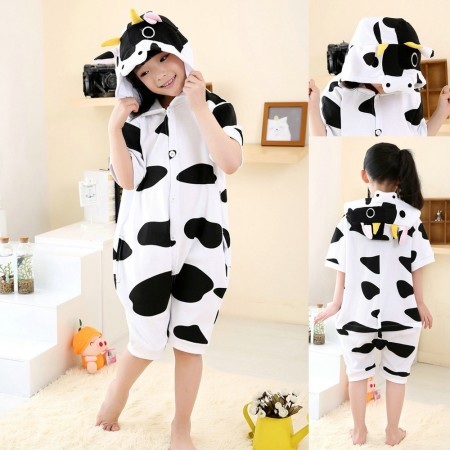 cartoon cow kigurumi for kids