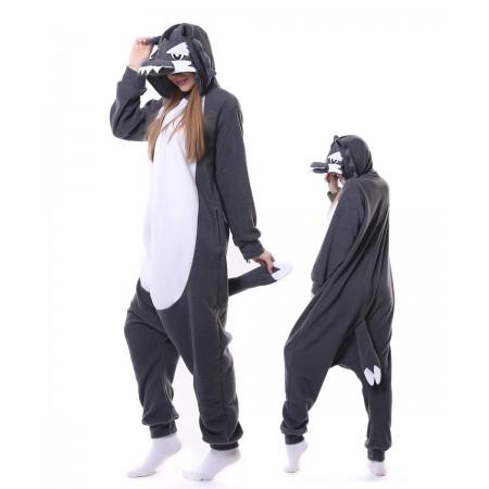 Grey Wolf Onesie Pajama Kigurumi Costumes