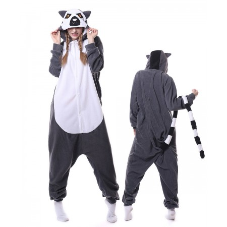 Lemur Onesie Pajama Animal Costumes For Women & Men