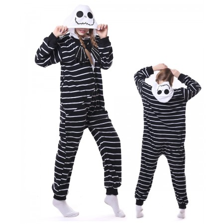 Jack Skellington Onesie Pajama Animal Costumes For Women & Men