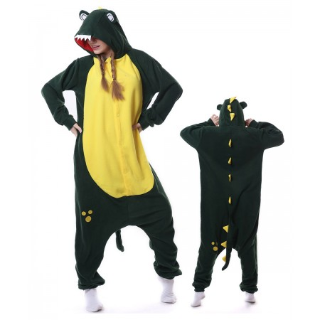 Crocodile Onesie Pajama Animal Costumes For Women & Men
