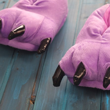 Purple Animal Onesies Kigurumi slippers shoes