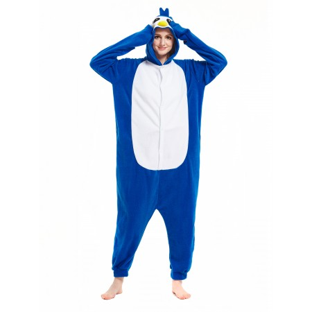 Blue Penguin Onesie