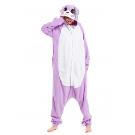 Purple Rabbit Onesie