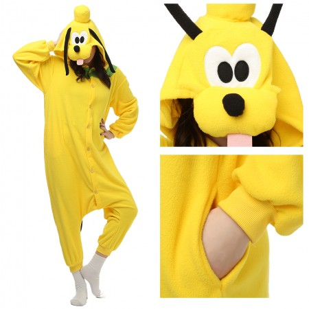 Pluto Dog Pajamas Animal Onesies Costume Kigurumi
