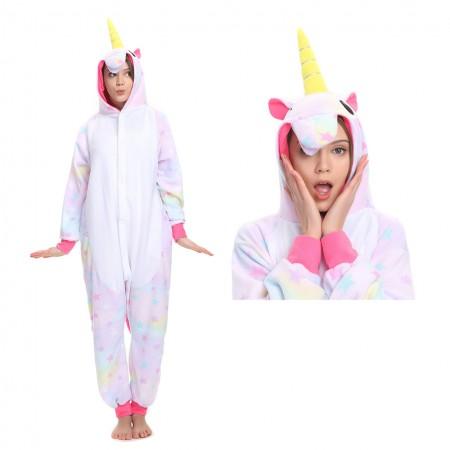 Star Unicorn Onesie Kigurumi Pajamas Costume