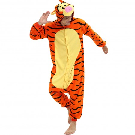Tigger Onesie Cosplay Costume | Wellpajamas