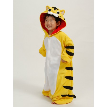 Yellow Tiger Kids Onesie