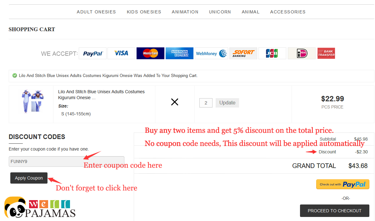 how to use coupon codes on wellpajamas