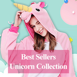 d80af899d196 High Quality Unicorn Onesie Pajamas For Adults And Kids | Wellpajamas
