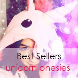 Buy unicorn onesies pajamas for adults or kids
